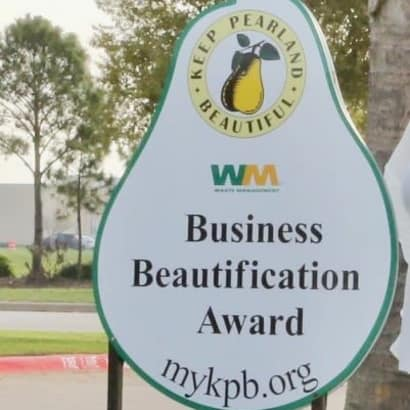 Business beautification award
