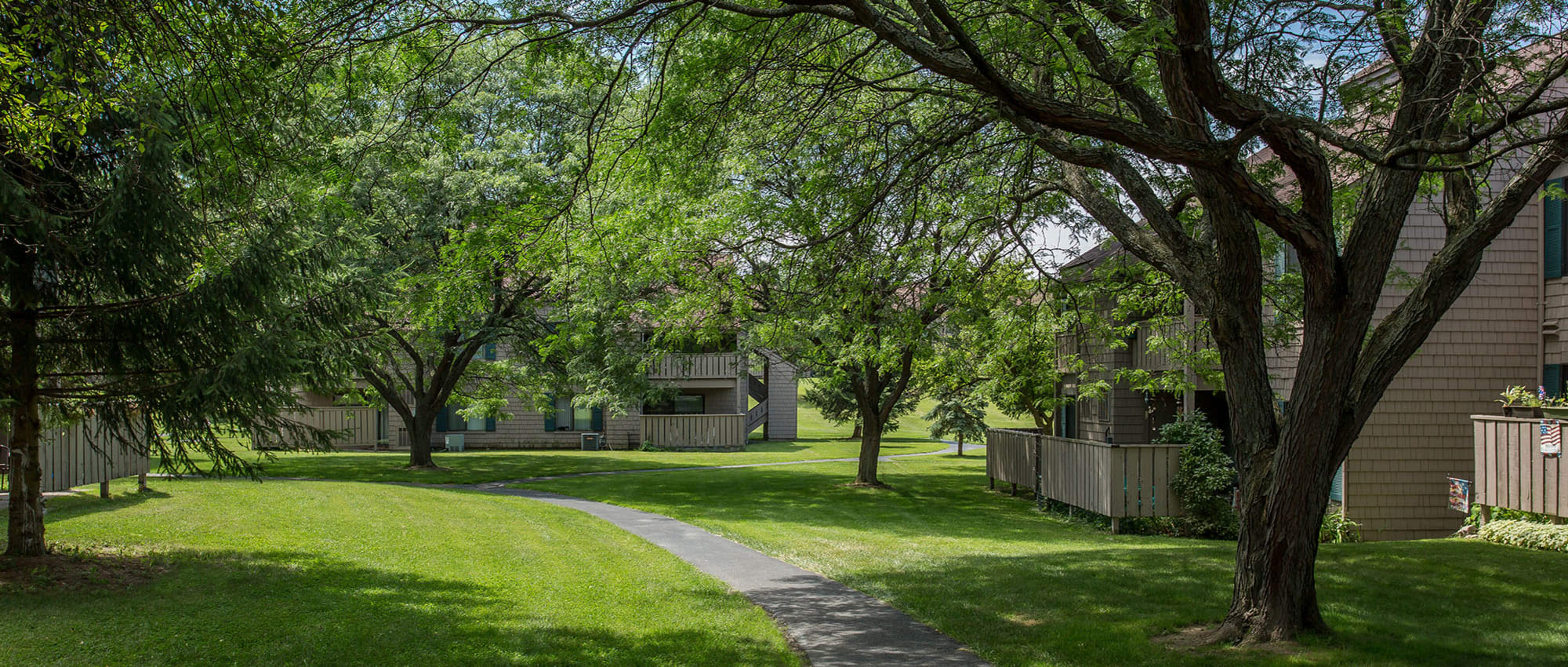 Apartments at Steeplechase Apartments in Camillus, New York