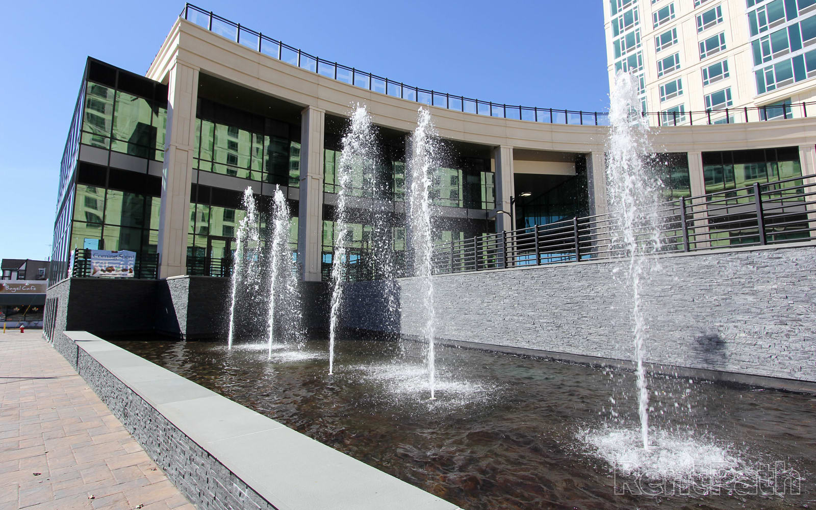 Exterior Fountain at The Centre
