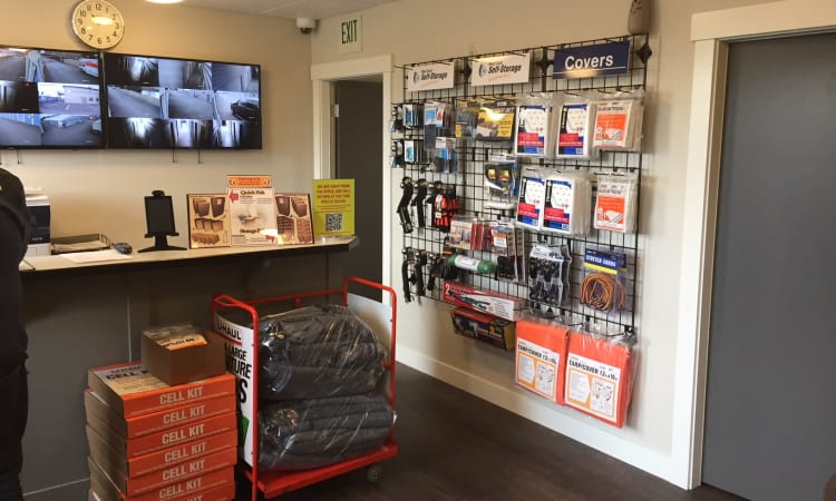 Glacier West Self Storage has a large variety of packing supplies available in Arlington, Washington