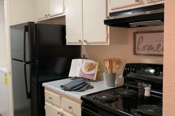 Kitchen at Sunrise Springs Apartments in Las Vegas, Nevada