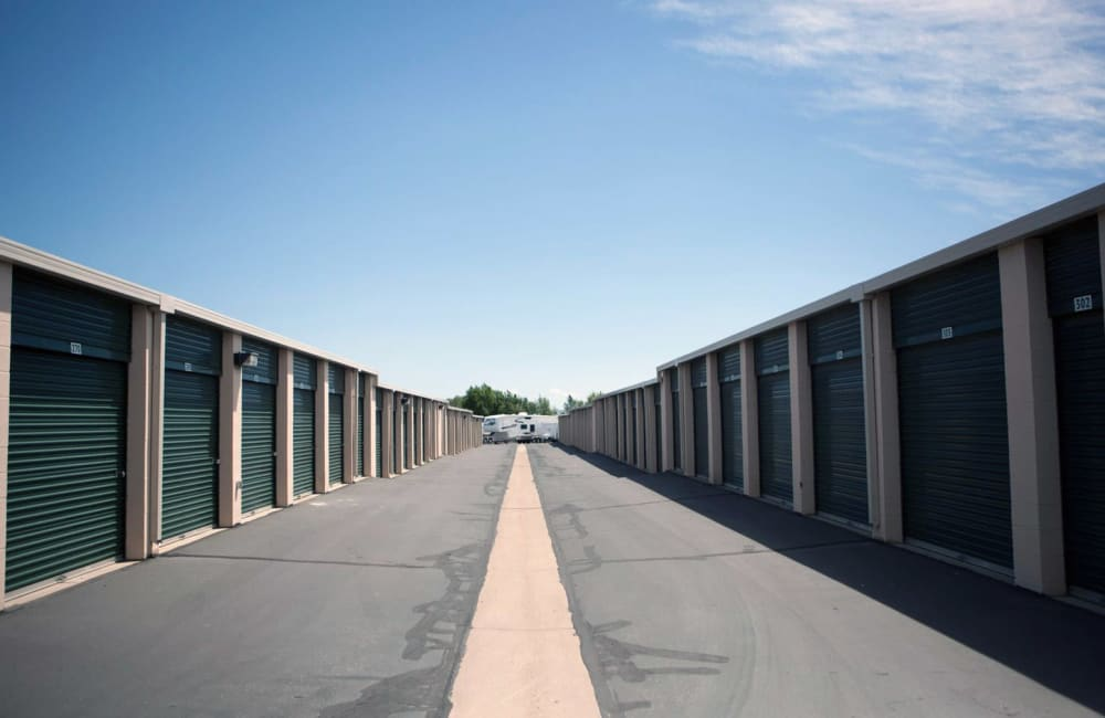 Office building of Lock It Up Self Storage in Layton, Utah