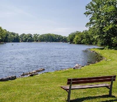 Lake view at Green Lake Apartments & Townhomes