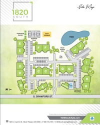 Site map of 1820 South Apartments in Mount Pleasant, Michigan