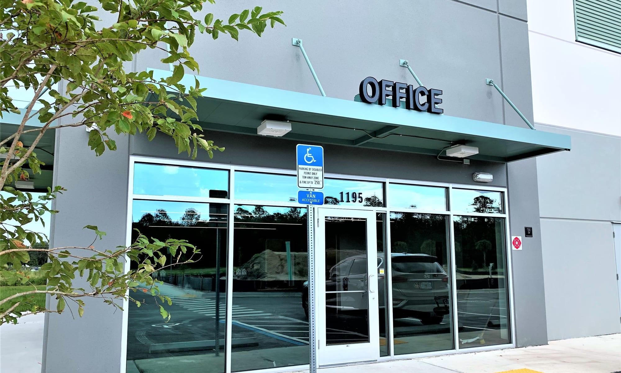 Entrance to My Neighborhood Storage Center self storage in Jacksonville, Florida