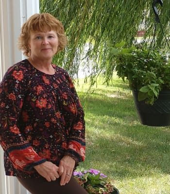 Kelly Luecking, Community Coordinator at Garden Place Millstadt in Millstadt, Illinois.