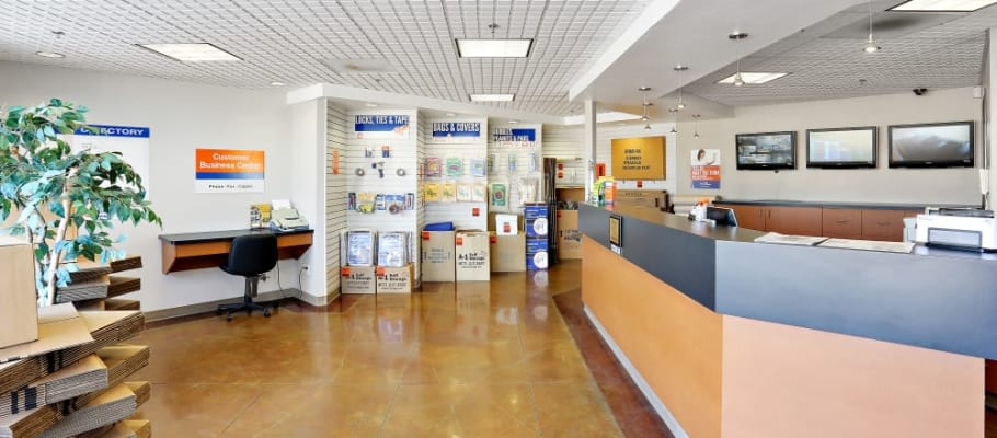 Our leasing office at A-1 Self Storage in San Diego, California