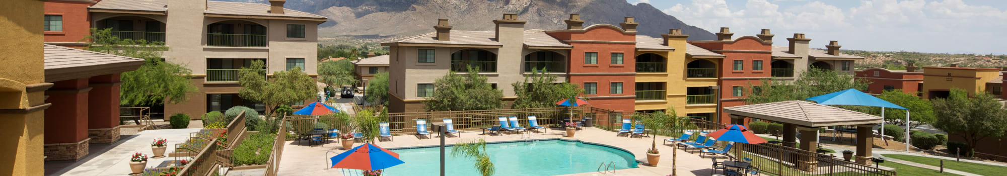 Pets are welcome at Oro Vista Apartments in Oro Valley, AZ