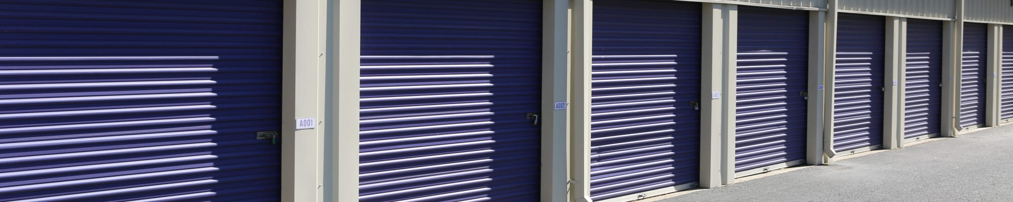 Privacy policy at Midgard Self Storage in Roswell, Georgia