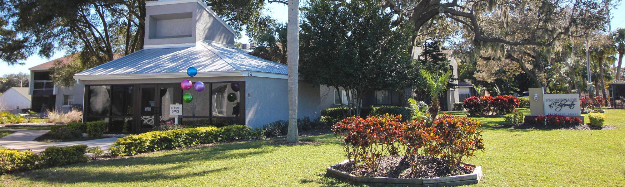 Promenade at Edgewater leasing office in Dunedin, Florida