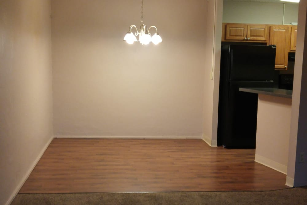 Dining Area at Triad Apartments