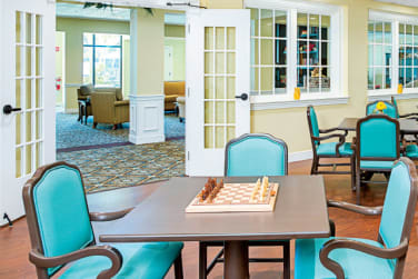Dining Area at Grand Villa of Clearwater in Clearwater, Florida