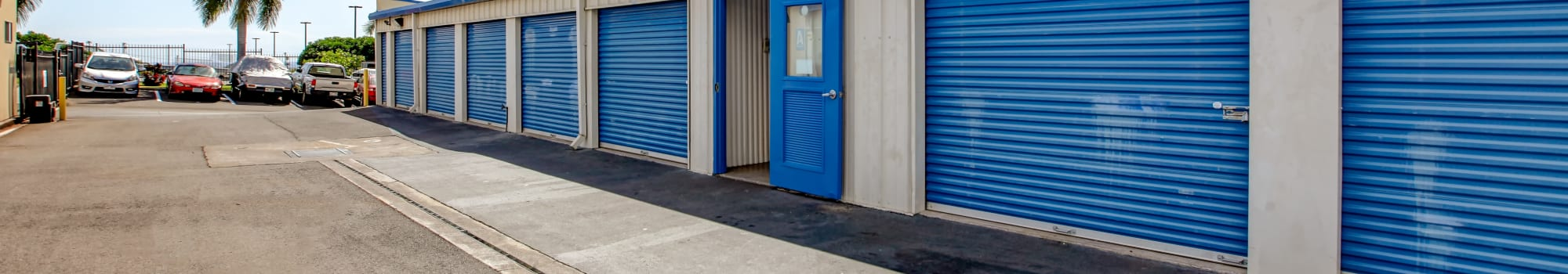 My Self Storage Space storage units for rent in Kailua-Kona, Hawaii