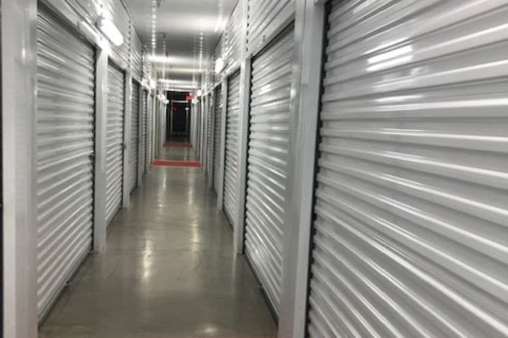 Climate controlled storage units at Storage Star Quail Creek in Laredo, Texas