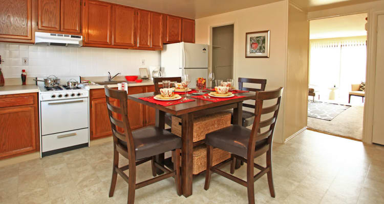 Fully-equipped kitchens at Dutch Village allow for endless culinary creations!