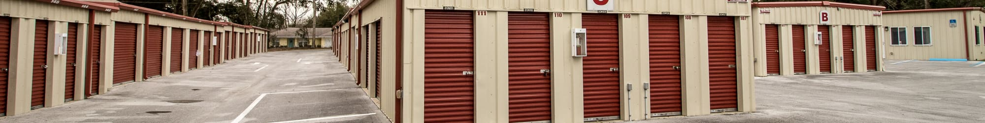 Self storage units for rent in Belleview, FL