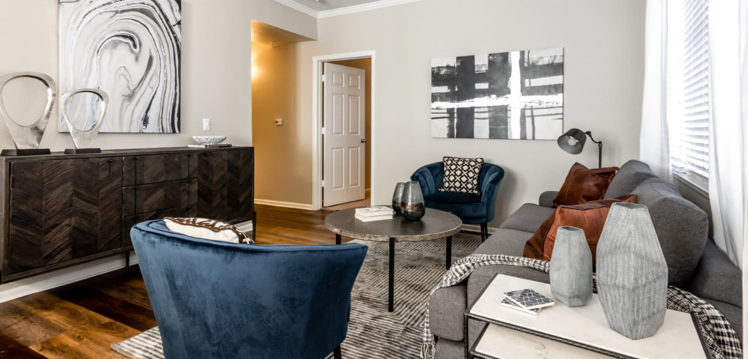 Living space at The Links at Plum Creek in Castle Rock, Colorado