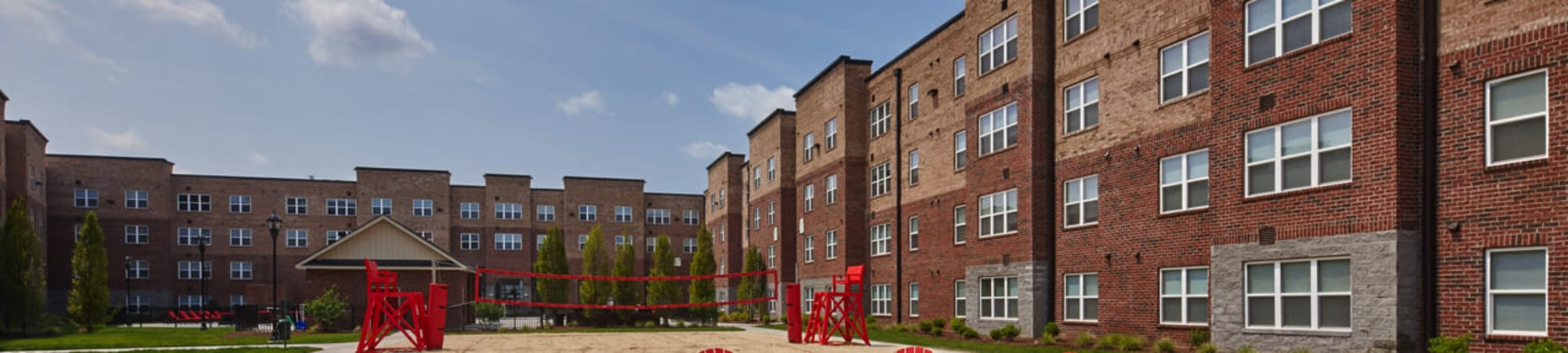 Learn about university offerings at Trifecta Apartments in Louisville, Kentucky.