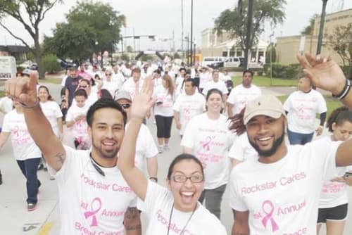 Rockstar Capital walk for the cure