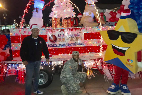 Palms at Chimney Rock Apartments supports the troops