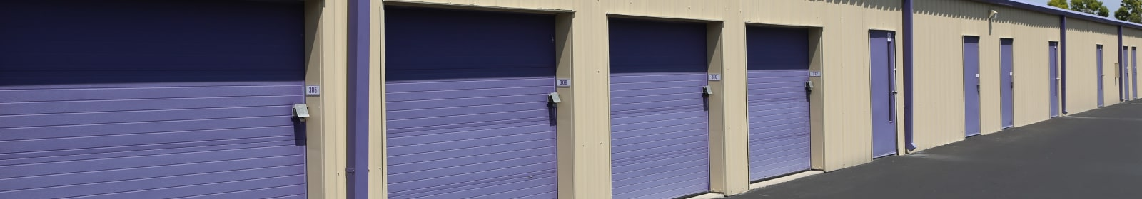 Climate-controlled storage at Midgard Self Storage in Lutz, Florida