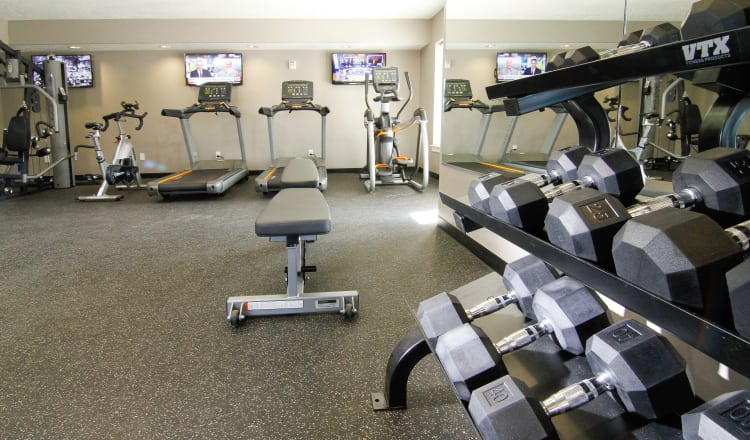 Stay healhty in the The Hills at Renaissance fitness center