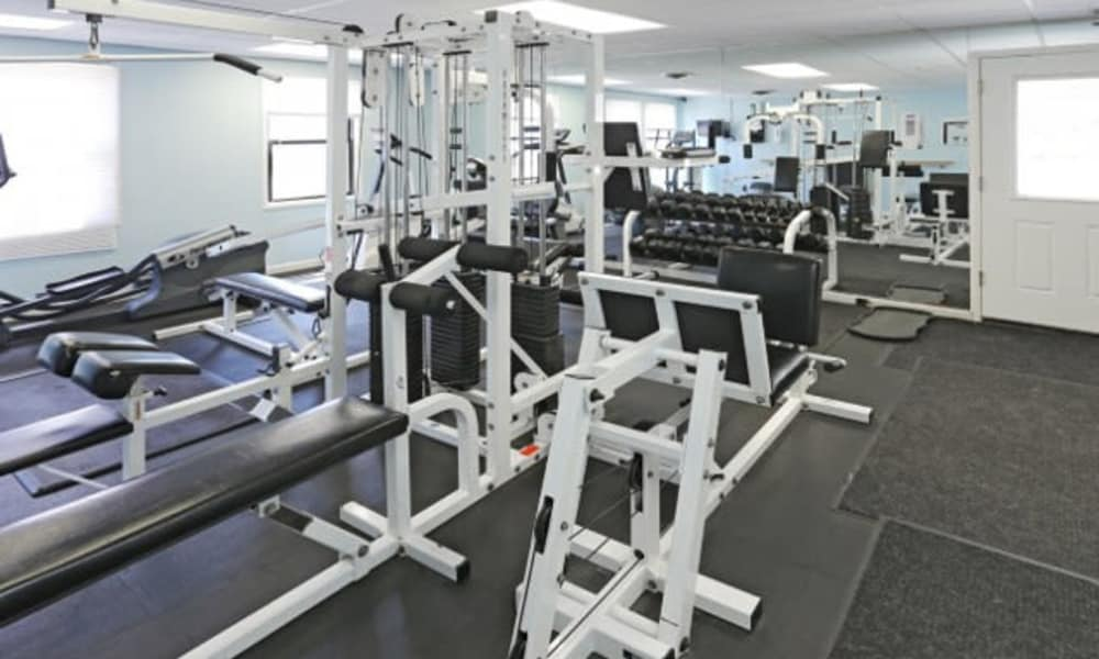 Stay healthy in our fitness center in Liverpool, NY