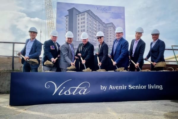 The company is ready to start construction on The Vista in Esquimalt, British Columbia.