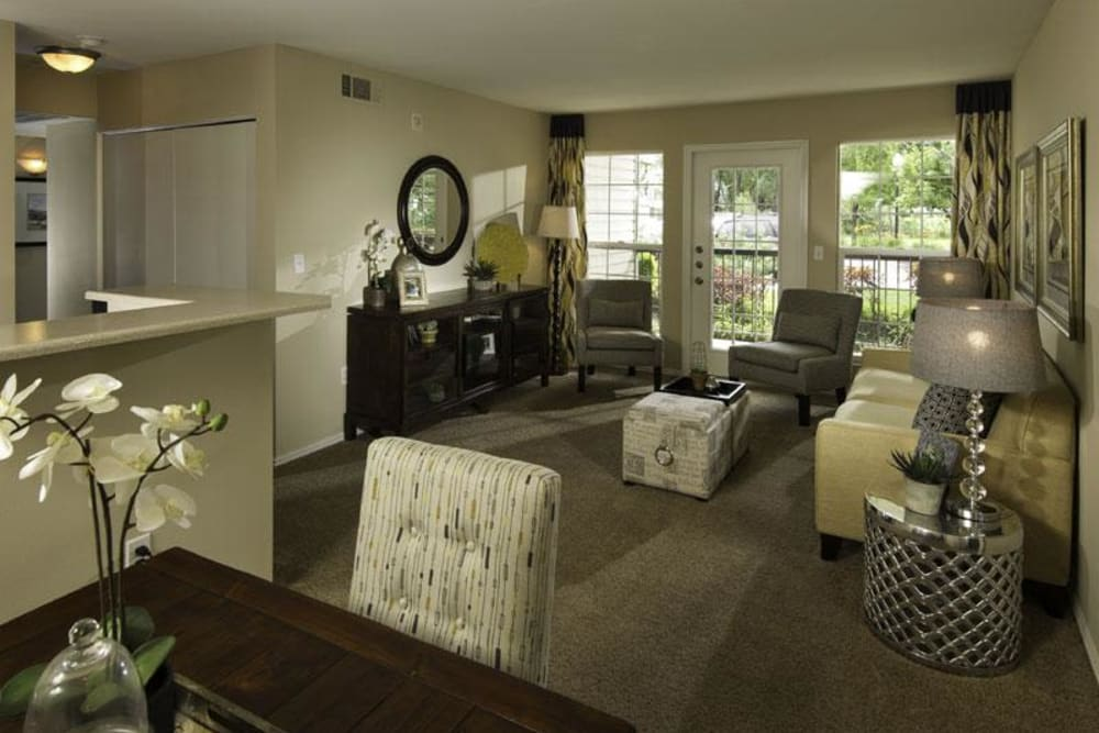 Example layout at Fairstone at Riverview Apartments in Taylorsville, Utah