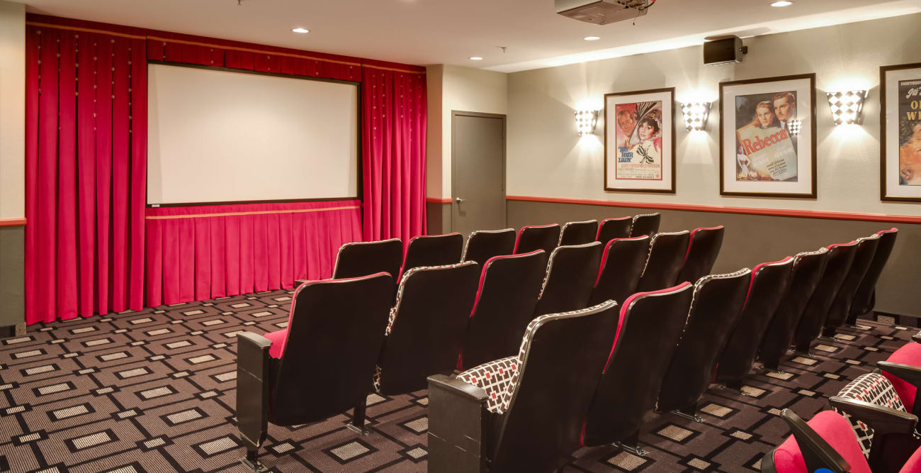 Movie theater at McDowell Village in Scottsdale, Arizona