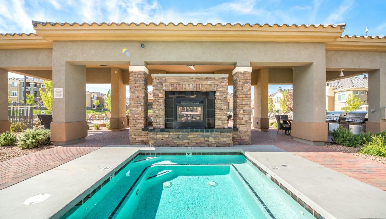 Olympus Encantada hot tub in Albuquerque, New Mexico