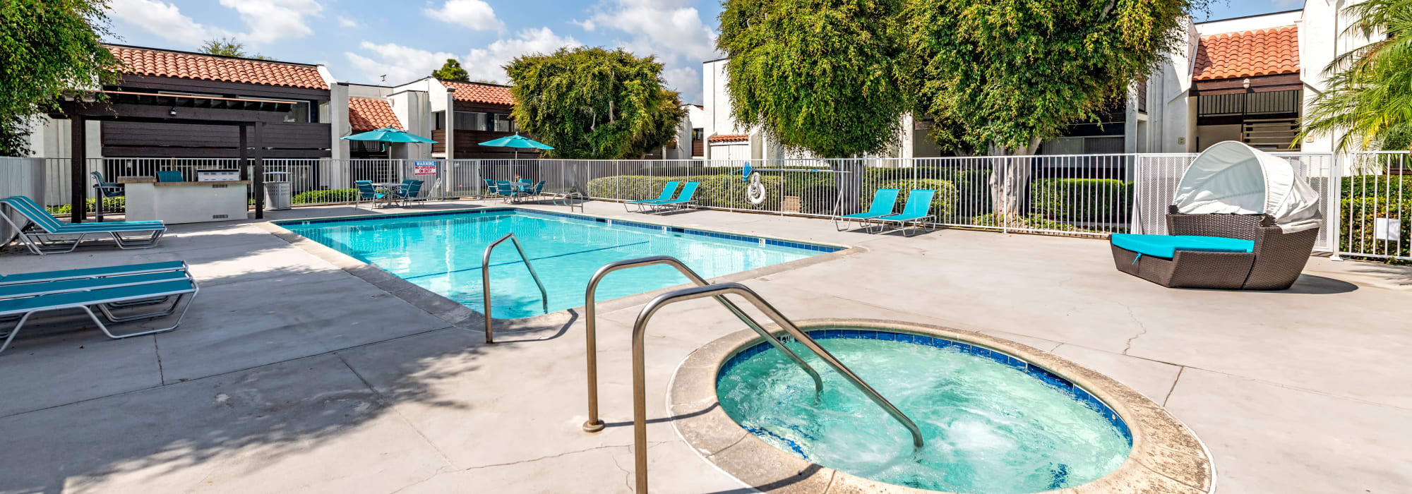 Amenities at Kendallwood Apartments in Whittier, California