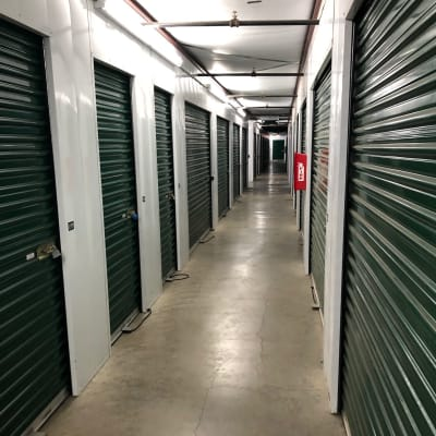 Climate-controlled units at Storage Star Vacaville in Vacaville, California