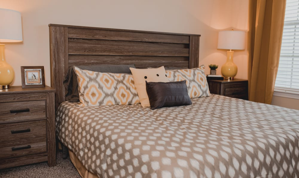 Master Bedroom At at Springs at Creekside in New Braunfels, TX