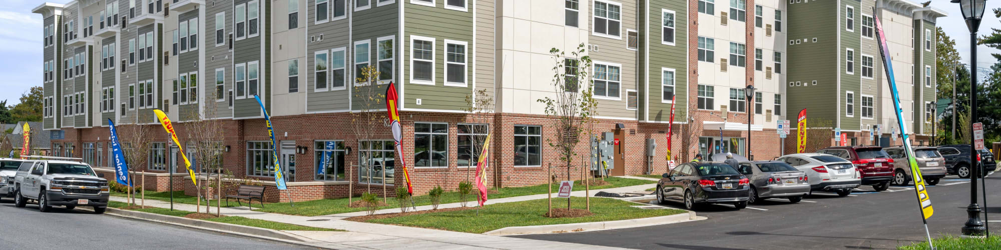 Neighborhood near The Apartments at Sharpe Square in Frederick, Maryland