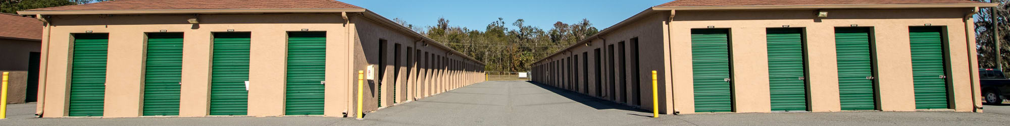 Self storage units for rent in Ocala, FL