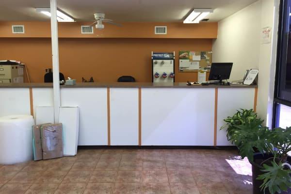 The office at Lockaway Storage in Texarkana, Texas