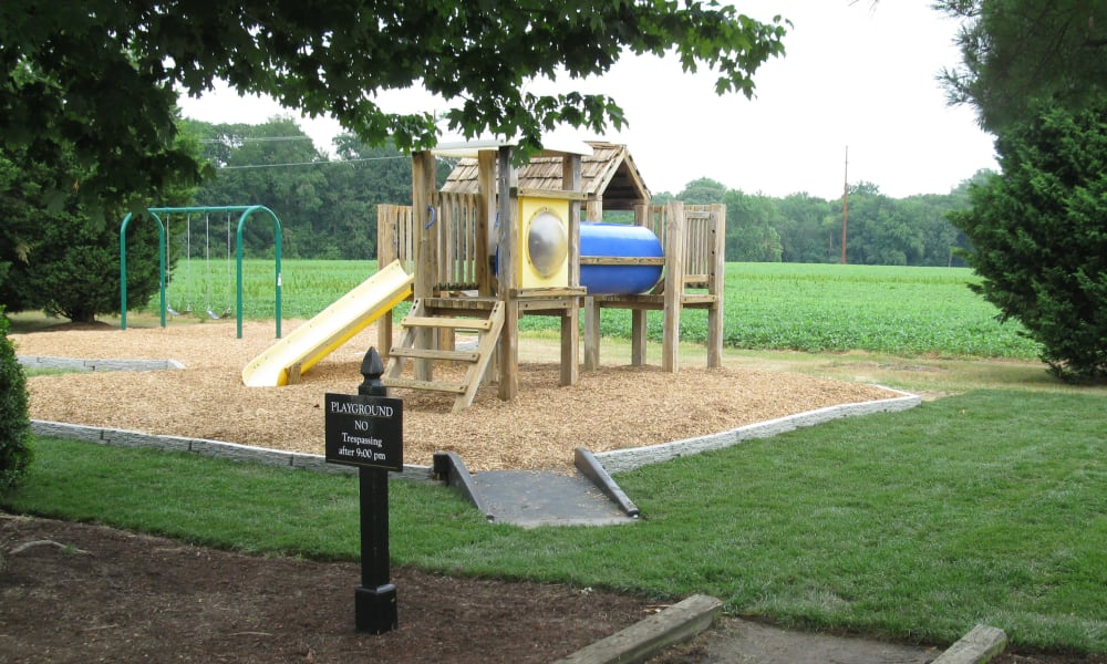 Playground at Greens at Cross Court in Easton, Maryland