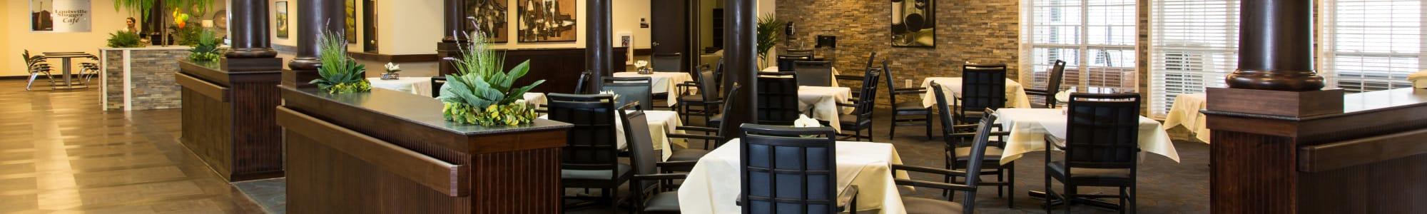 Dining room at Tiffin in Tiffin, Ohio