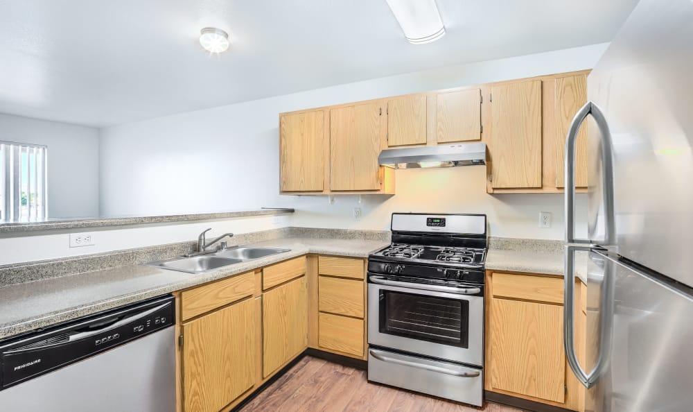 Renovated Kitchen at Portola Del Sol in Las Vegas
