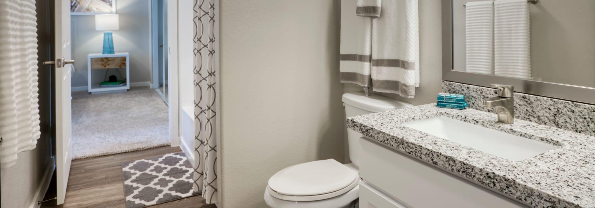 Bathroom at Waterside at Ocotillo