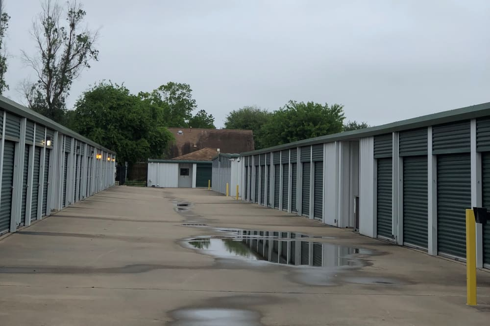 Exterior units at Store It All Self Storage - FM 529 in Houston, TX