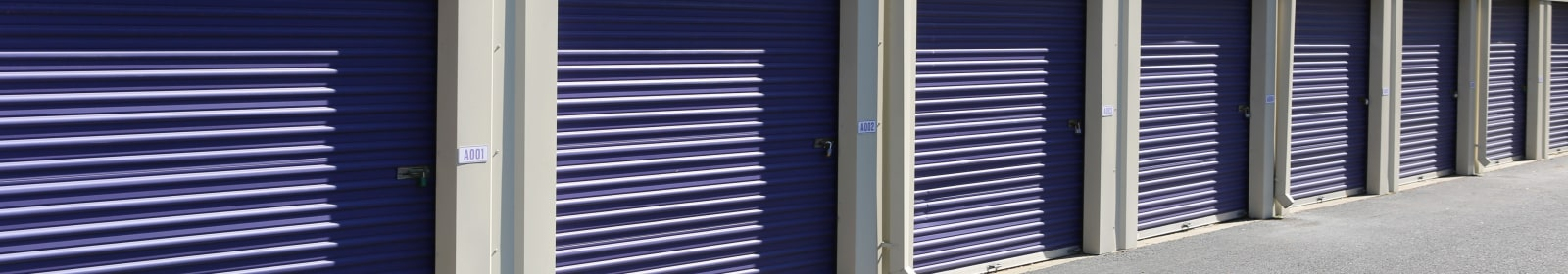 Self storage features in Buford, Georgia