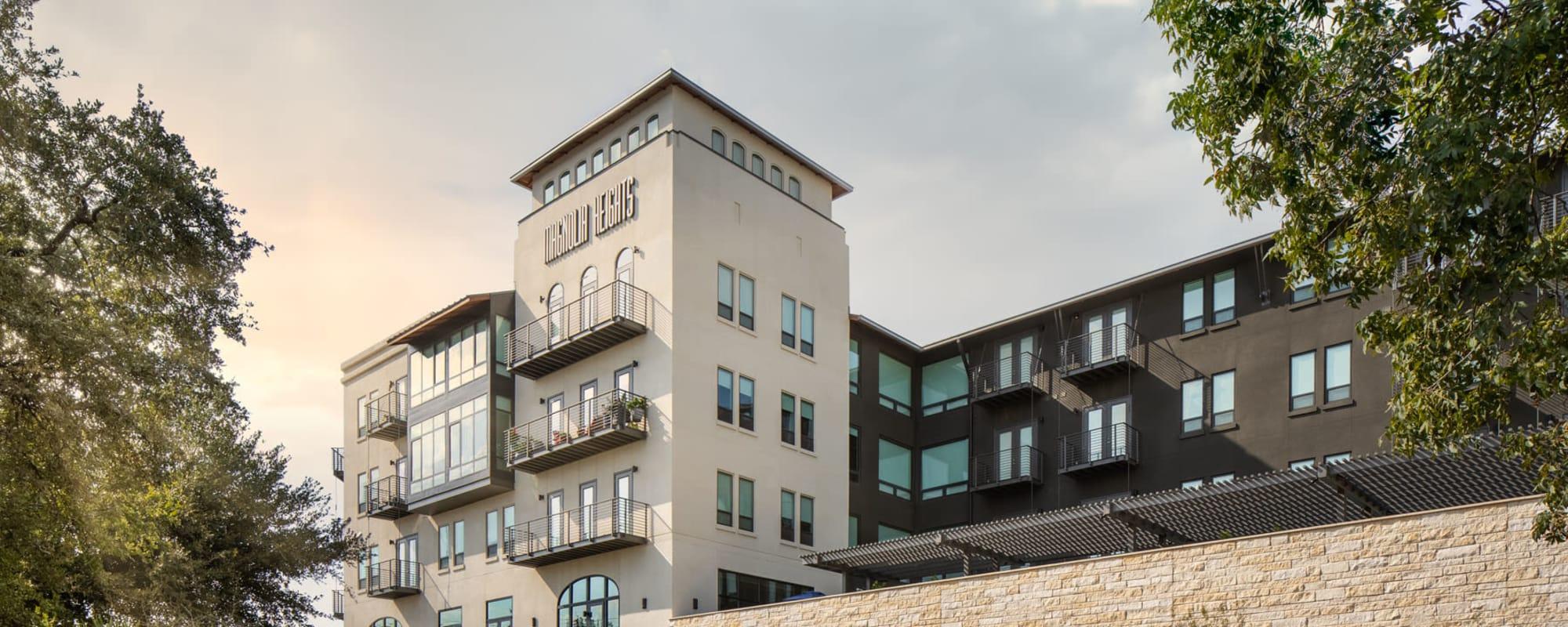 Apartments at Magnolia Heights in San Antonio, Texas