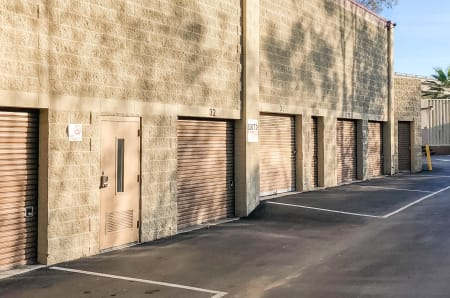 Exterior Units of StorQuest Express - Self Service Storage in Sacramento, California