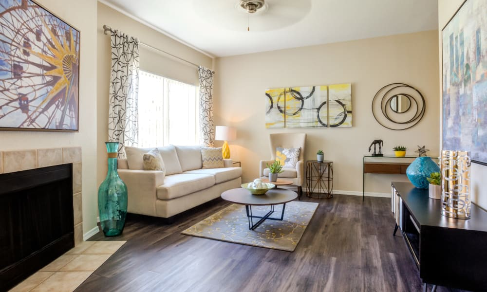 Living Area at Tresa at Arrowhead Apartments in Glendale, AZ