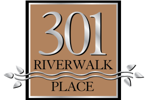 301 Riverwalk Place logo
