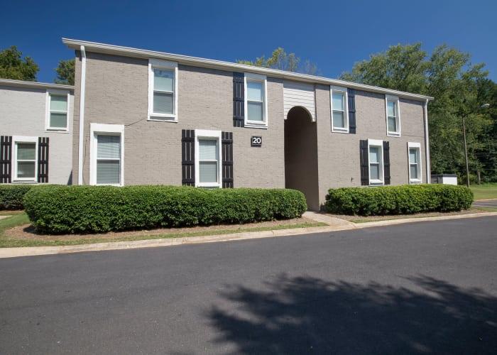Apartment building at Avondale Reserve in Avondale Estates, GA