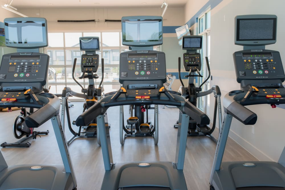 24-Hour Fitness Center at Springs at Cottonwood Creek Apartments