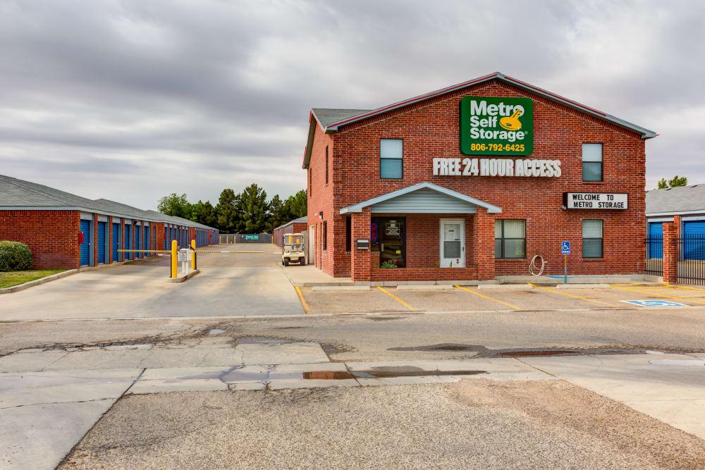 Office at Metro Self Storage in Lubbock, TX